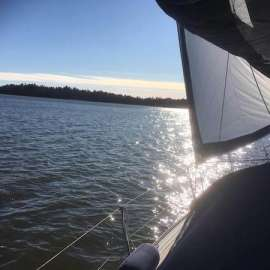 Kevään ensi purjehdus espoo