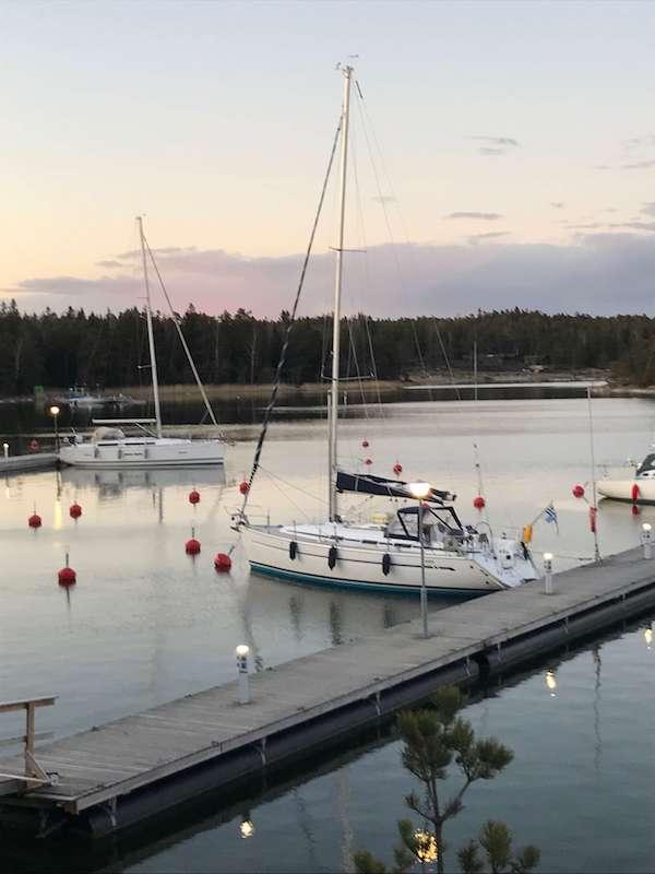 Kevään ensi purjehdus Espoossa